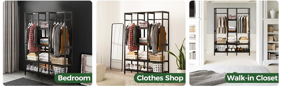cloth rack for closet