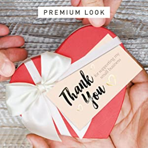 PREMIUM CARDS THANK YOU NOTE CARDS