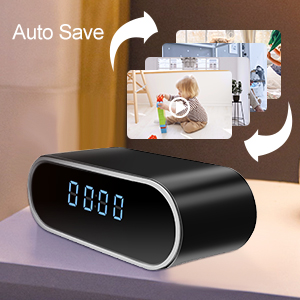 WiFi camera, Hidden camera, Clock Camera, mini camera, ip camera, security camera, smart camera