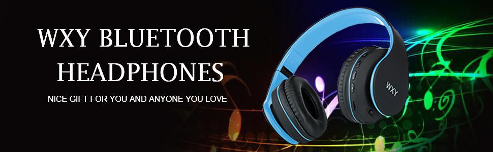 WXY Over Ear Bluetooth Headphones-EBC-1