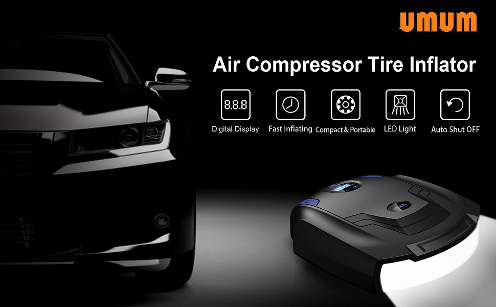 96181d18 78b0 4e94 90cd a6c26aeb012b. CR0,0,970,600 PT0 SX970 V1 - Air Compressor Tire Inflator,UMUM 12V 150PSI Portable Air Pump for Car Tires,Auto Tire Pump with Emergency Led Lighting and Long Cable for Car,Bicycle,Motorcycle,Ball,Inflatable Pool and others