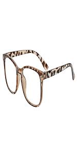leopard blue light blocking glasses