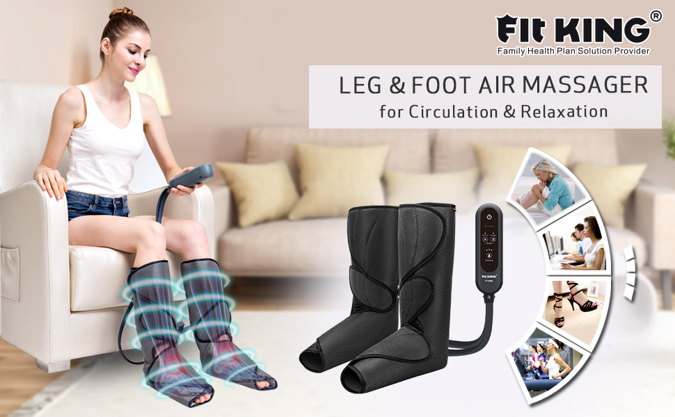 FIT KING Air Compression Leg & Foot Massager