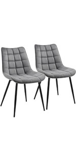 Yaheetech Fabric Dining Chair