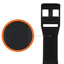 URBAN ARMOR GEAR UAG SILICONE WATCH STRAP TEXTURED INNER BAND SPORTY SWEATPROOF