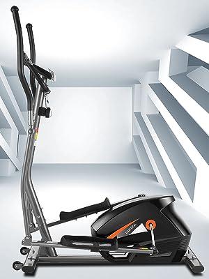 Elliptical machine for home cardio fitness