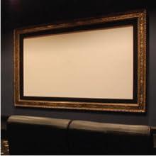 Raw projector screen materials.