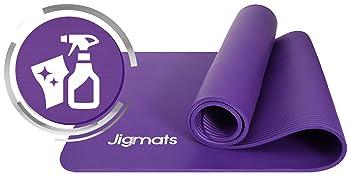 black gym mat