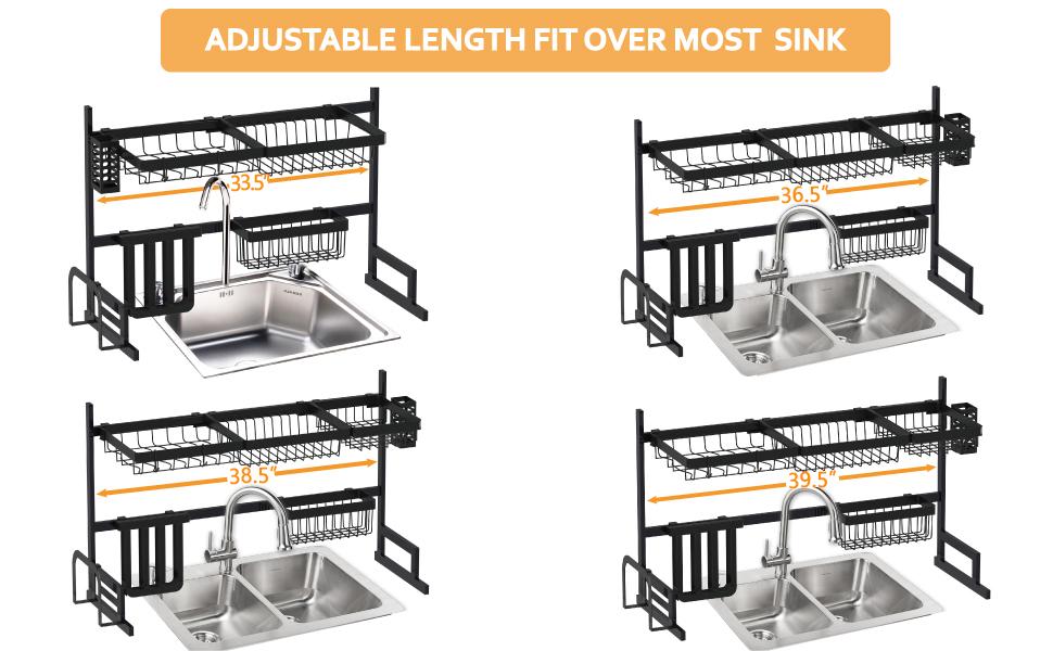 dish drying rack large