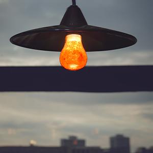 salt bulb lamp