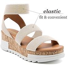 wedge sandal platform sandal summer ankle strap platform wedge zapato de mujer plataforma shoe