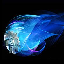 Willsence Friggitrice ad aria, 2020 Funzione di Preriscaldamento Friggitrice ad aria calda per 4 o più persone, 8 Preimpostati, LED Touch, Friggitrice Elettrica con Ricettario Plurilingue, Senza BPA