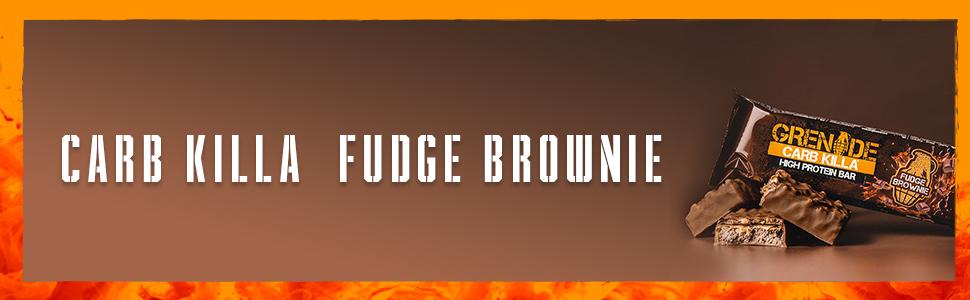 Grenade Fudge Brownie Killa High Protein and Low Carb Bar