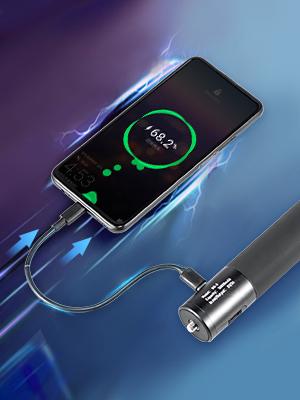 ULANZI BG-3 10000mAh Power Stick Vlog Handgrip Extension Power Bank Battery Handle Grip for Gopro PD//QC Backup Charging Battery Selfie Tripod Monopod for iPhone Gopro DJI Pocket 2 rx100 VII zv1