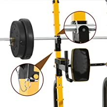 safety barbell rest