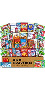 snacks care package gift box pack college students school boy girl cookies candy candies food study