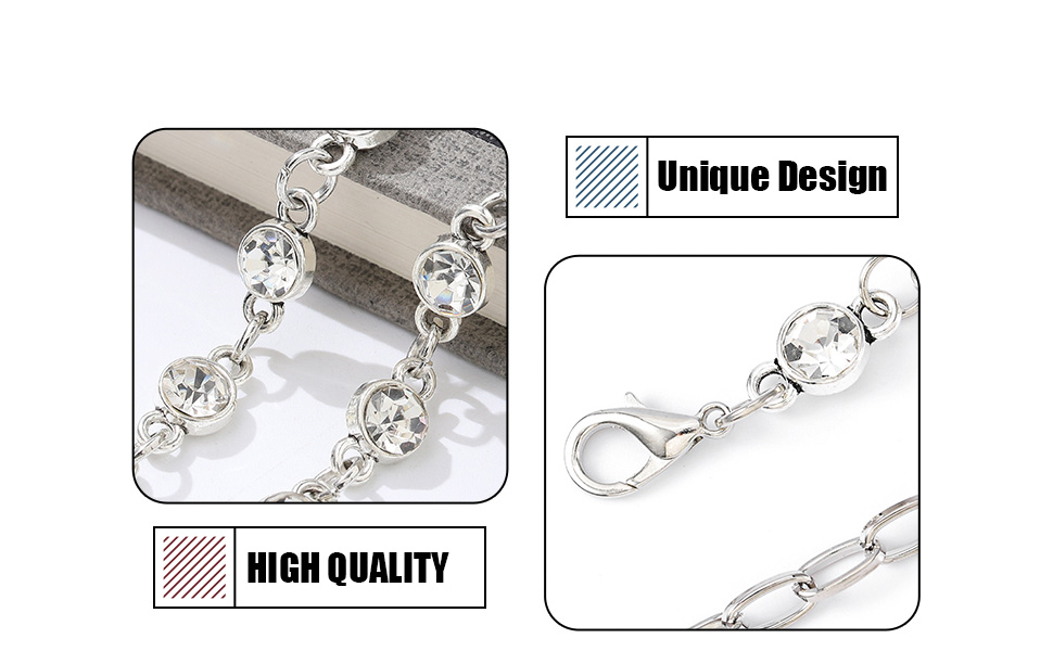 Silver Body Chains
