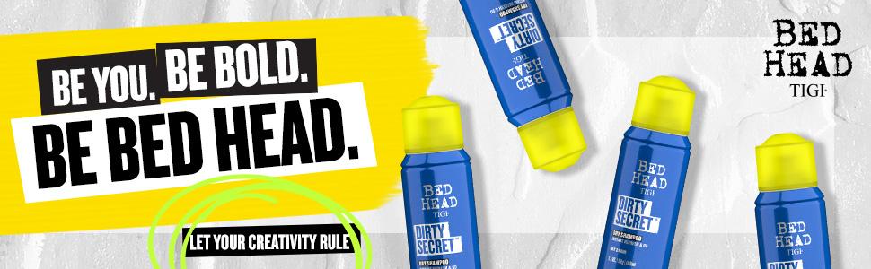 tigi bed head bedhead dirty secret dry shampoo travel size mini holiday greasy hair oil oils clean