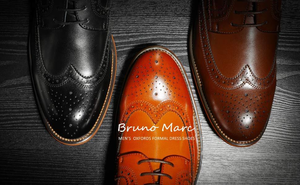 Bruno Marc Homme Louis Chaussures de Ville Classiques