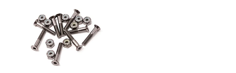 Elos Skateboard Hardware Mounting Nuts and Bolts