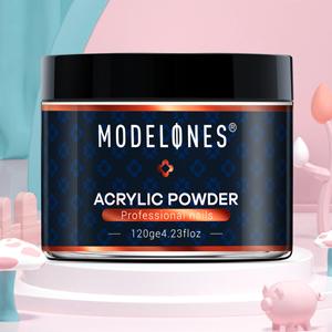 nude acrylic powder natural nude mia