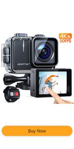APEMAN 4k action camera Wi-Fi waterproof camera 20MP underwater camera EIS sport camera
