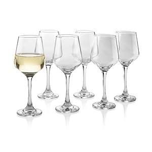 wine glasses, 14 oz wine glasses, 10 ounce wine glasses, wine glasses with steam, classic wine glass