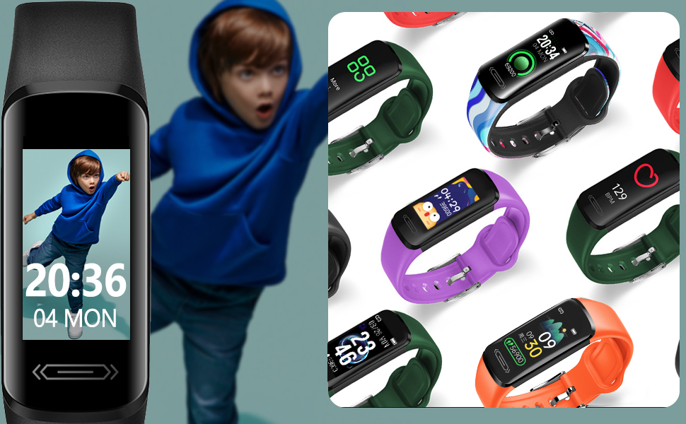kids fitness tracker ip68 fitbit kids boys fitbit watch pedometer for kids step counter step tracker