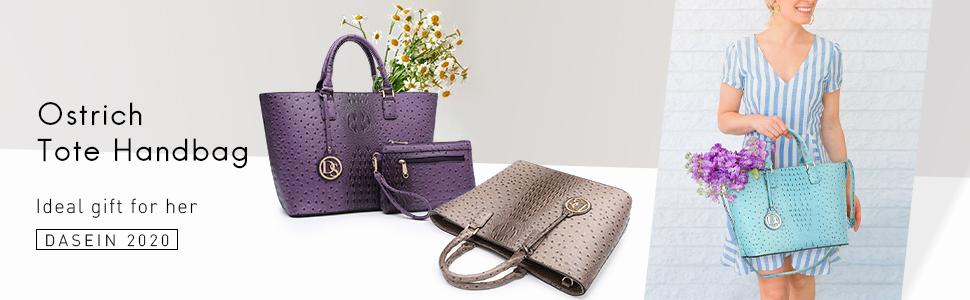 women's ostrich handbag