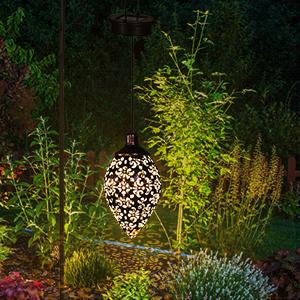 solar lights outdoor lantern