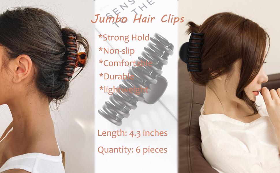hair claw clips 3
