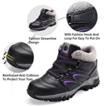 Durable Outdoor Thermal Casual Sneakers Work Walking Hiking Lace Up Outdoor Trainer Urban