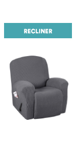 1 piece recliner cover furniture protector for recliner