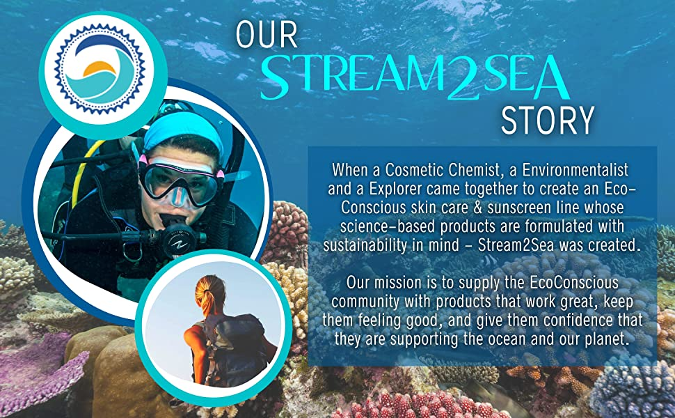 stream2sea sunscreen leave in conditioner soap camping defogger shampoo reef safe scuba mask defog