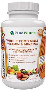Multivitamin Whole Food Multi Vitamin for men Vitamins for women wholefood multivitamins for men