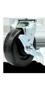 Service Caster, series 30, heavy duty caster, top lock brake, total lock brake