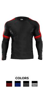 Core long sleeves rash guard