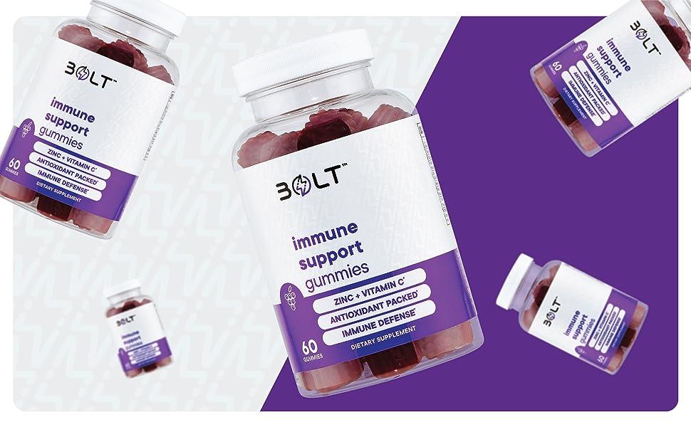 immune support gummies elderberry vitamin c zinc dietary supplement vitamin a e