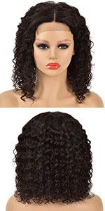 Deep Wave Bob Lace Front Wig