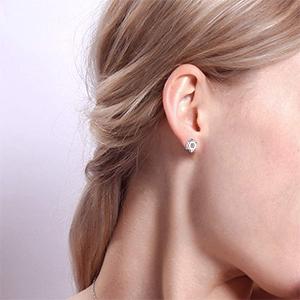 small stud earring