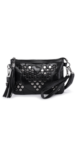 bolso remaches mujer