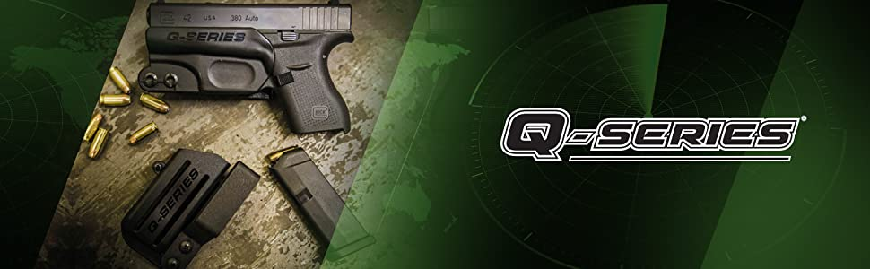 Q Series holsters minimalist gun holsters
