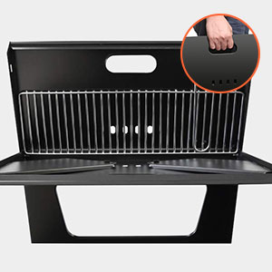 Moclever charcoal grill