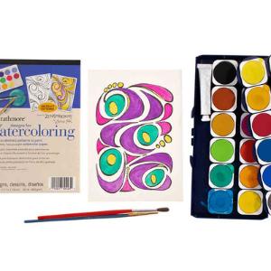 Watercolor Set and Pad