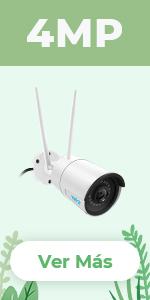 Reolink Cámara IP WiFi 1440p HD, Cámara de Seguridad WiFi 2.4 ...