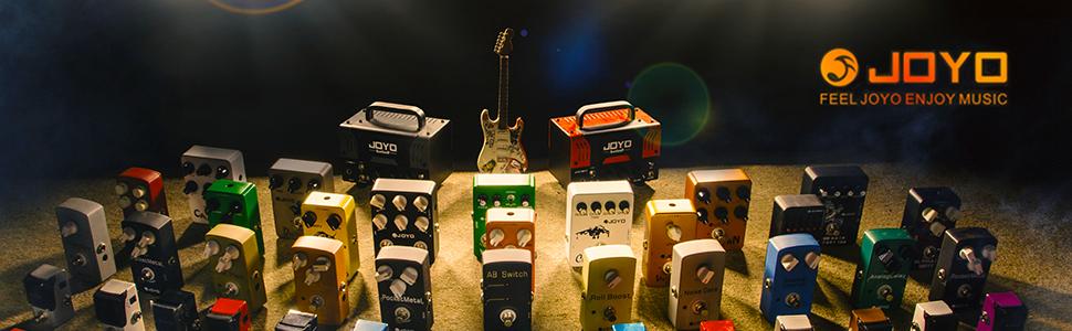 JOYO JF10 series effect pedals