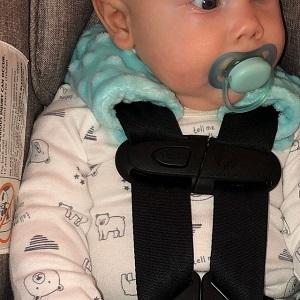 baby strap pad