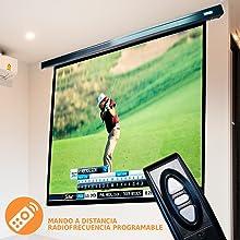 pantalla de proyeccion para futbol, pantalla de proyeccion grande, pantalla de proyeccion de calidad