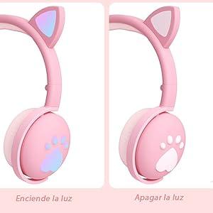 Audífonos de oreja de gato
