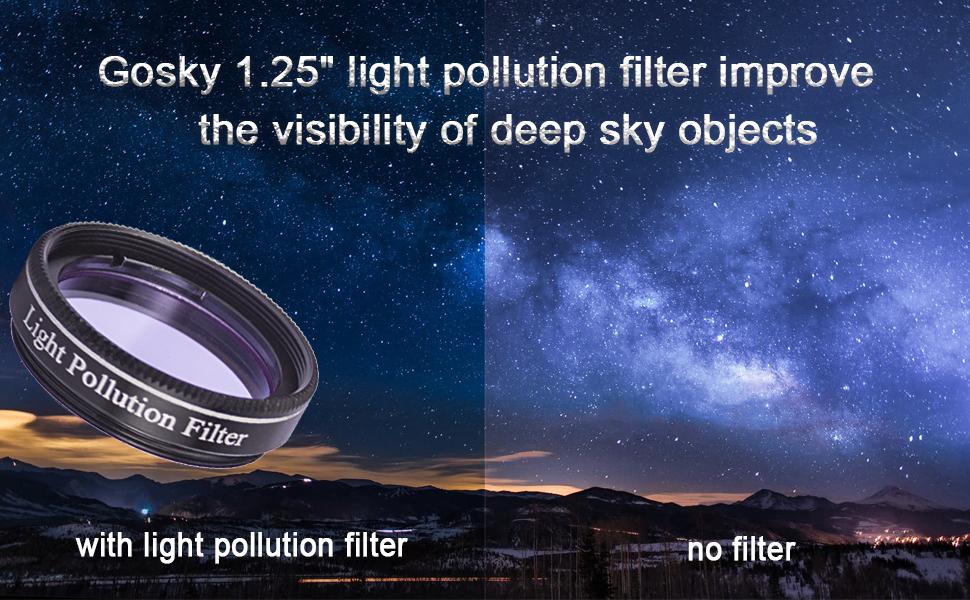 light pollution filter